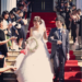 A schedule of Japanese wedding ceremony